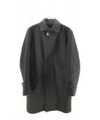 MACKINTOSH PHILOSOPHY(マッキントッシュフィロソフィー)の古着「ライナー付ウールステンカラーコート」|ブラック