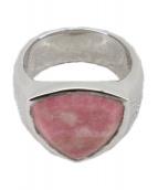 ()の古着「Shield Pink Rhodonite」|ピンク