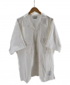 OLD JOE & Co.(オールドアンドジョー)の古着「オープンカラーシャツ」|ホワイト
