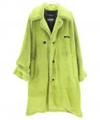 SYU.HOMME/FEMM(シュウオムフェム)の古着「Wolf Coat」|イエロー