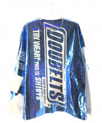 doublet(ダブレット)の古着「SNACK FOIL PACKAGE L/S TEE」 ブルー