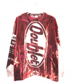 doublet(ダブレット)の古着「SNACK FOIL PACKAGE L/S TEE」 レッド