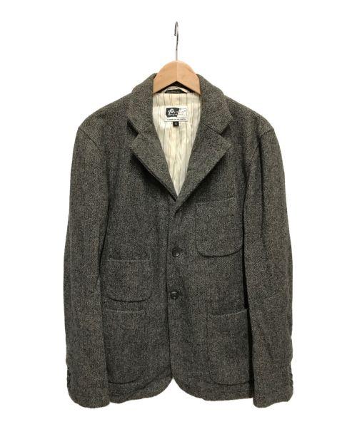 Engineered Garments(エンジニアドガーメンツ)Engineered Garments (エンジニアドガーメンツ) ウールヘリンボーンジャケット グレー サイズ:Sの古着・服飾アイテム