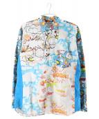 COMME des GARCONS SHIRT(コムデギャルソンシャツ)の古着「FANCY COMICS SHIRT」|マルチカラー