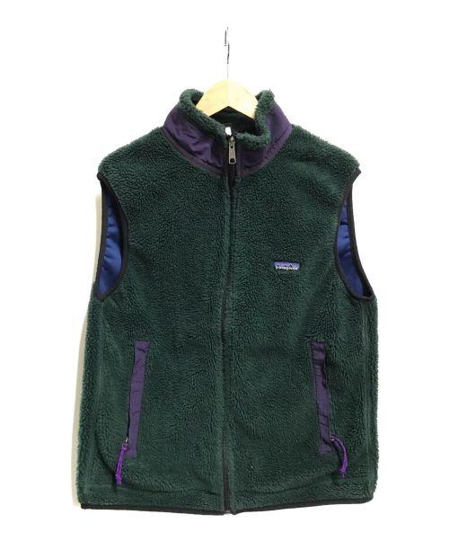 Patagonia(パタゴニア)Patagonia (パタゴニア) レトロXベスト グリーン サイズ:Lの古着・服飾アイテム