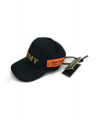 HERON PRESTON(ヘロン プレストン)の古着「BASEBALL CAP ARMY AP」|ブラック