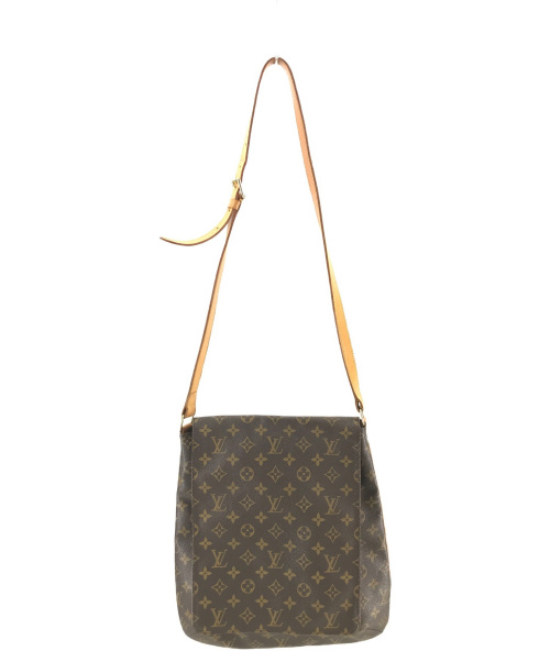 LOUIS VUITTON(ルイヴィトン)LOUIS VUITTON (ルイヴィトン) ミュゼット ブラウン モノグラム AS0090の古着・服飾アイテム