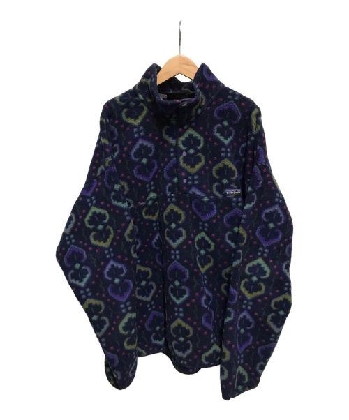 Patagonia(パタゴニア)Patagonia (パタゴニア) シンチラフリーススナップT ネイビー サイズ:XLの古着・服飾アイテム