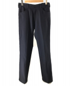 SECOND LAYER(セカンドレイヤー)の古着「スラックス」|ネイビー