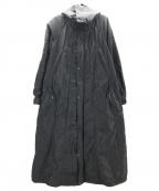 ISSEY MIYAKE(イッセイミヤケ)の古着「パラシュートコート」|ブラック