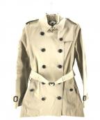 BURBERRY PRORSUM(バーバリープローサム)の古着「ショートトレンチコート」|ベージュ