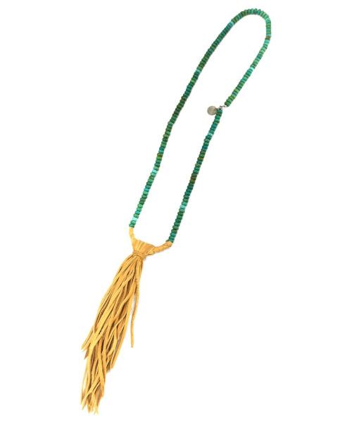 KAPITAL(キャピタル)KAPITAL (キャピタル) チペワネックレス ターコイズの古着・服飾アイテム