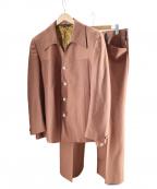 USED(ユーズド)の古着「ヴィンテージウエスタンセットアップ」|ブラウン