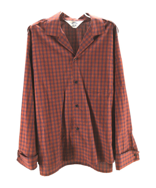 SUNSEA(サンシー)SUNSEA (サンシー) GIGOLO SHIRT 改 レッド サイズ:3の古着・服飾アイテム