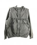 SUPREME()の古着「Overdyed Twill Hooded Jacket」|グレー