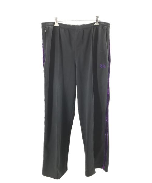 Needles(ニードルス)Needles (ニードルス) Side Line Center Seam Pant ブラック×パープル サイズ:Lの古着・服飾アイテム