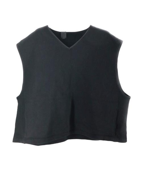 N.HOOLYWOOD(ミスターハリウッド)N.HOOLYWOOD (エヌハリウッド) ボンディングベスト ブラック サイズ:‐ の古着・服飾アイテム
