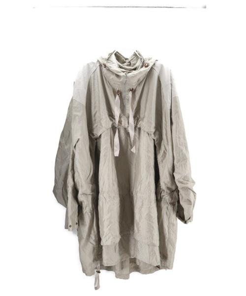 Midorikawa(ミドリカワ)midorikawa (ミドリカワ) pullover hood coat シャンパンゴールド サイズ:FREEの古着・服飾アイテム
