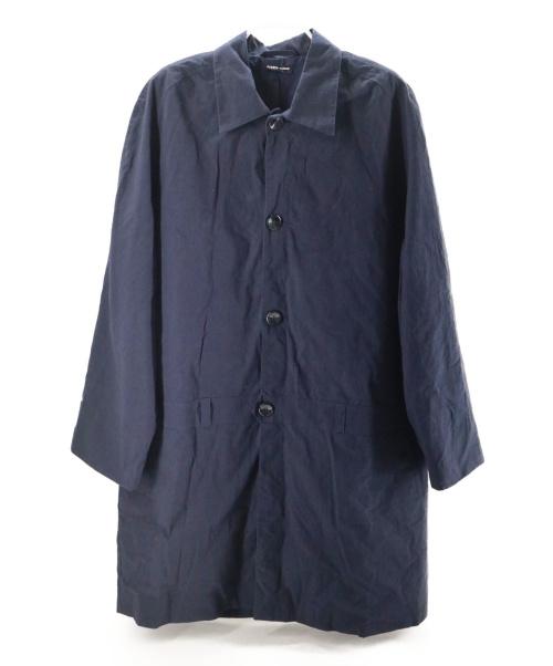 FRANK LEDER(フランクリーダー)FRANK LEDER (フランクリーダー) ステンカラーコート ネイビー サイズ:Mの古着・服飾アイテム