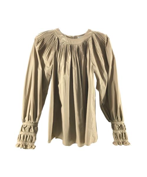 CLANE(クラネ)CLANE (クラネ) BALLOON PLEAT TOPS ベージュ サイズ:1 20AWの古着・服飾アイテム