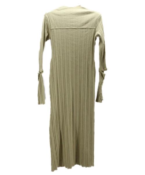 TODAYFUL(トゥデイフル)TODAYFUL (トゥデイフル) Piping Rib Dress ベージュ サイズ:36 20AWの古着・服飾アイテム