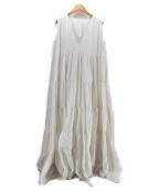 merlette(マーレット)の古着「ノースリーブワンピース」 ホワイト
