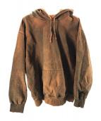 Supreme(シュプリーム)の古着「Spray Hooded Sweatshirt」|ブラウン