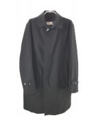 MACKINTOSH PHILOSOPHY(マッキントッシュフィロソフィー)の古着「ライナー付ステンカラーコート」|ブラック