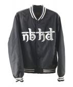 NEIGHBORHOOD(ネイバーフッド)の古着「STADIUM / N-JKT」|ブラック