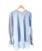 Ujoh(ウジョー)の古着「ボウタイシャツ」|ブルー