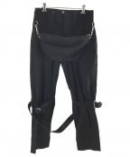 MOUNTAIN RESEARCH(マウンテンリサーチ)の古着「ボンテージパンツ」 ブラック