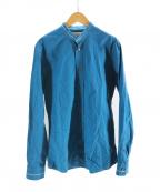 Maison Martin Margiela14(メゾンマルタンマルジェラ14)の古着「カラーレスシャツ」|ブルー