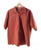 AURALEE()の古着「SELVEDGE WEATHER CLOTH HALF SL」|ブラウン