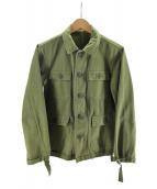 UNUSED(アンユーズド)の古着「ミリタリーフィールドジャケット」|カーキ