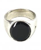 TOM WOOD(トムウッド)の古着「オーバルブラックオニキスリング」|ブラック