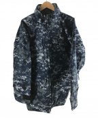 US NAVY(ユーエスネイビー)の古着「GORE-TEX デジカモジャケット」|ネイビー
