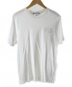 Y-3()の古着「Tシャツ」|ホワイト