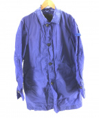 PEUTEREY(ピューテリー)の古着「ナイロンジャケット」 ブルー