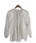 Veritecoeur(ヴェリテクール)の古着「アンティークブラウス」|ホワイト