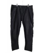 STONE ISLAND(ストーンアイランド)の古着「GARMENT DYED CHINO PANTS」|ブラック