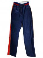 FACETASM()の古着「FAKE SUEDE PANTS」|ブラック