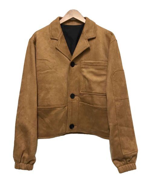 XANDER ZHOU(ザンダーゾウ)XANDER ZHOU (ザンダーゾウ) Multi pockets jackets ブラウン サイズ:44の古着・服飾アイテム