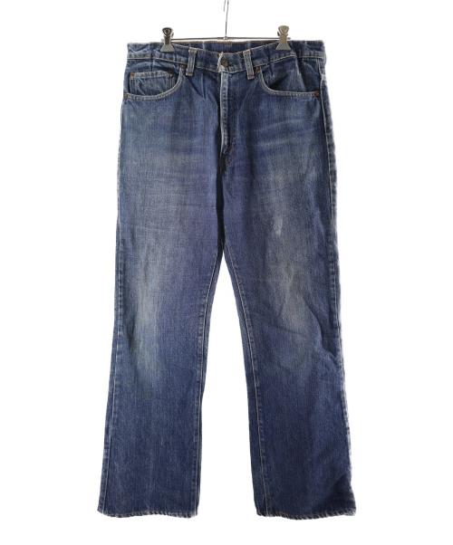 LEVIS(リーバイス)LEVIS (リーバイス) 517 ブーツカットデニム ブルー サイズ:表記無し 66前期 ボタン裏16の古着・服飾アイテム