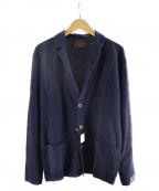Altea(アルテア)の古着「ニットジャケット」|ネイビー