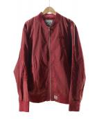 ()の古着「25周年記念 MA-1ジャケット」 レッド