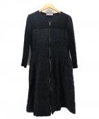 Rene(ルネ)の古着「ニットワンピース」|ブラック