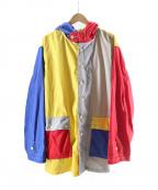 AiE(エーアイイー)の古着「クレイジーパターンパーカー」 マルチカラー