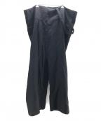 nagonstans()の古着「リネンワイドパンツ」|グレー