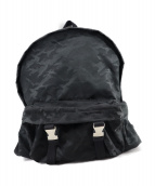 ()の古着「カモフラバックパック」|ブラック