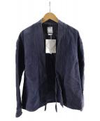 ()の古着「LHAMO SHIRT INDIGO FLANNEL」|インディゴ